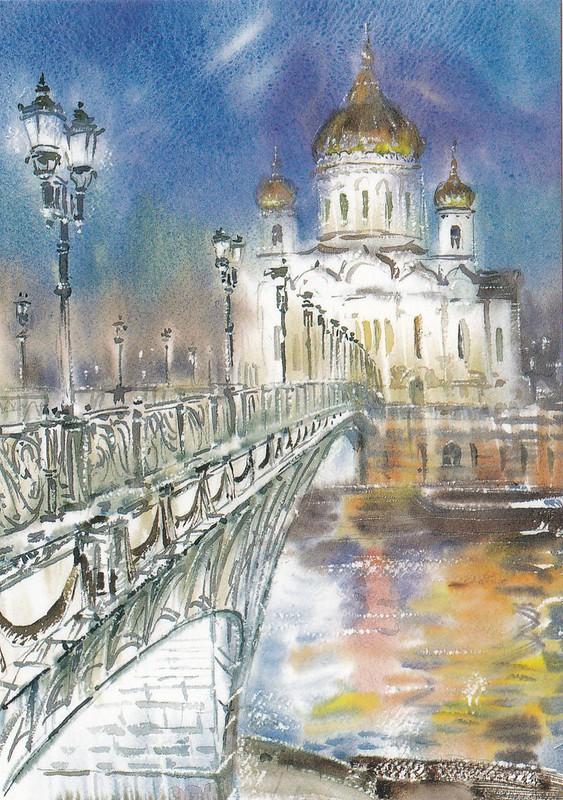 Москва в акварелях (3)