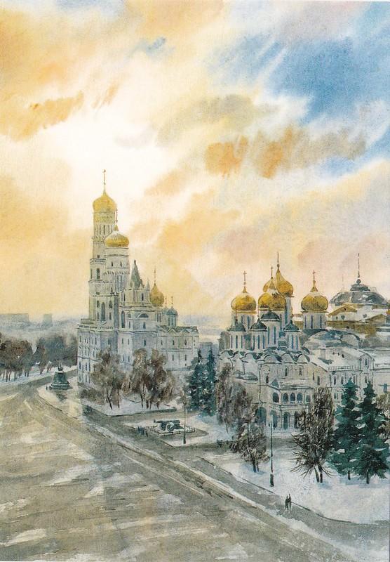 Москва в акварелях (15)