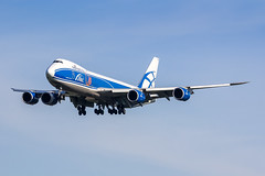 AMS - Boeing 747-8HVF (VQ-BRH) Air Bridge Cargo