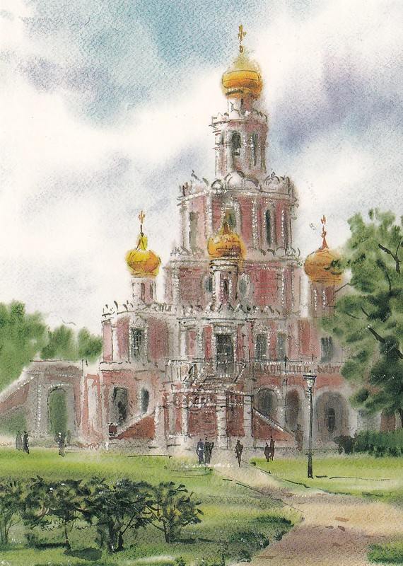 Москва в акварелях (6)