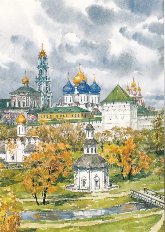 Москва в акварелях (5)