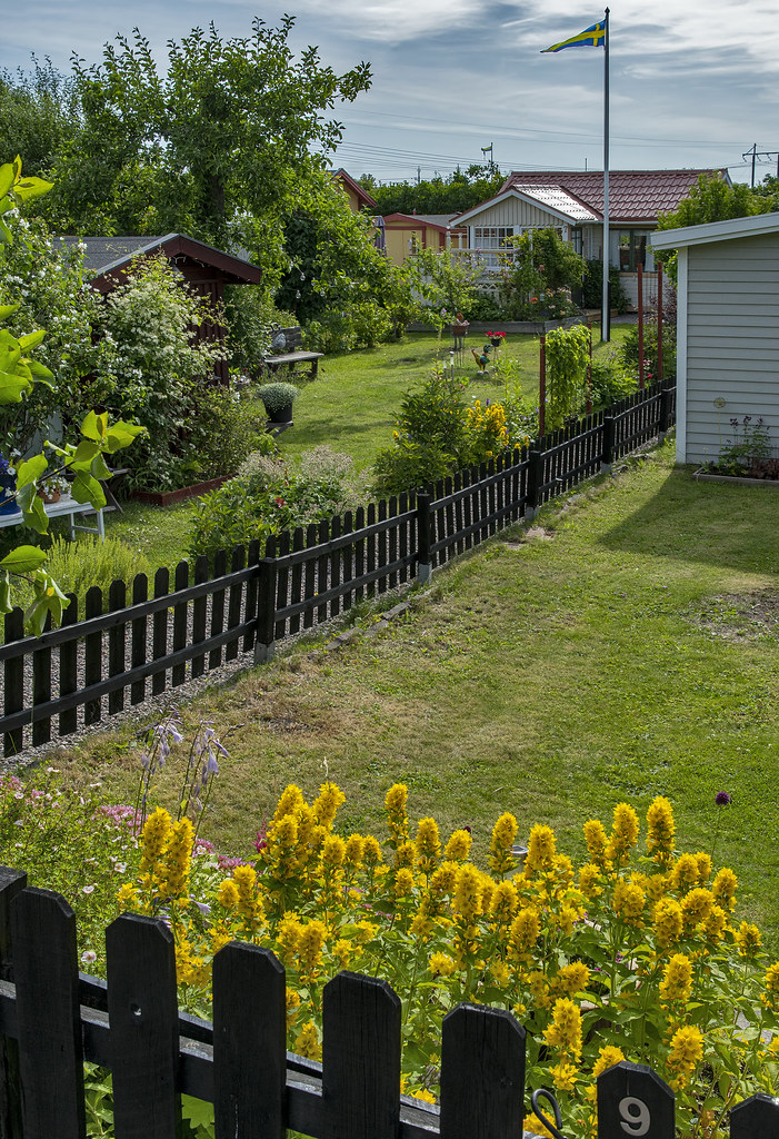 Gävle community garden neighborhood