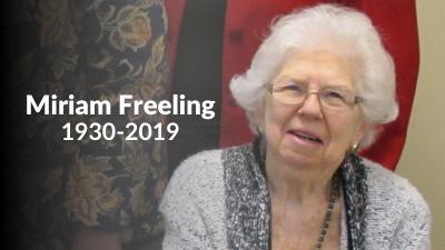Miriam Freeling (1930-2019)