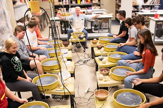 Ceramic class at JKSTEMDay