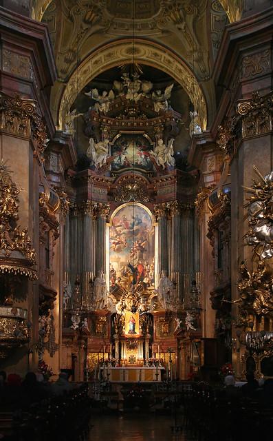 In der Peterskirche in Wien