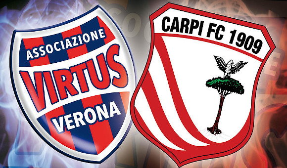 Virtus Verona - Carpi le interviste