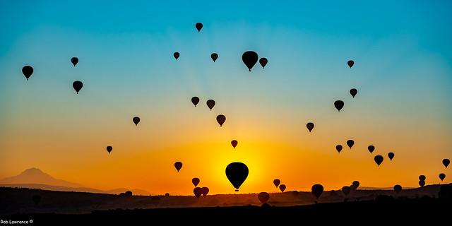 Air Balloon Valley Capaddocia-Turkie