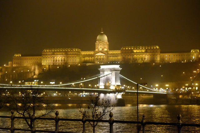 Foggy Night in Budapest, Hungary