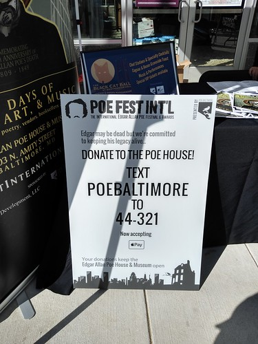 The International Edgar Allan Poe Festival, October 5, 2019