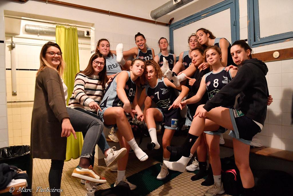 U18F, (vs Basket Arrigans) : 48-36