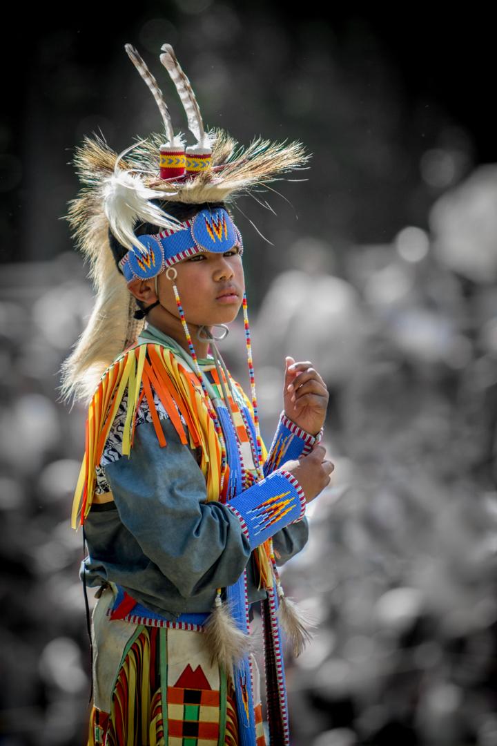 Jeune Amérindien