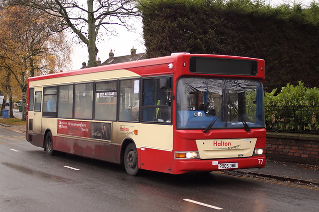 Halton Transport 77 PX06DWD Childwall Road 251119