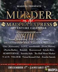MadPea Adventure Calendar - Murder on the MadPea Express