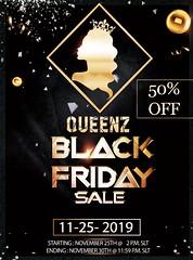 QUEENZ | Black Friday Sale!!