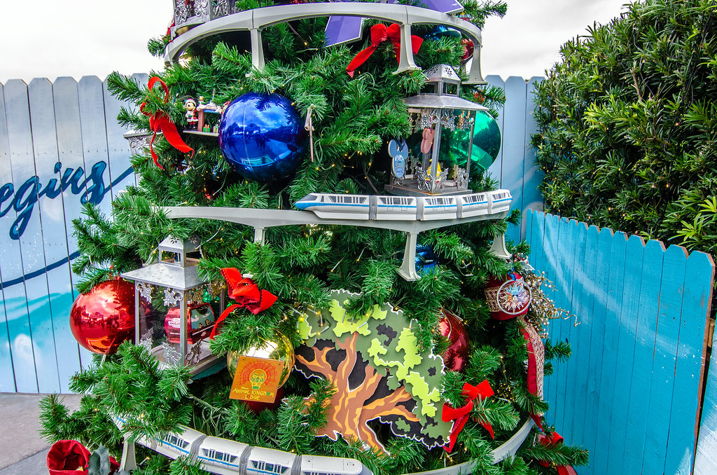 Monorail tree Disney Springs CTT