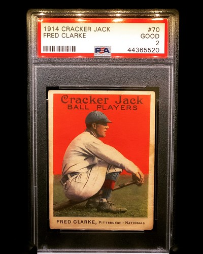 1914 Cracker Jack Fred Clarke