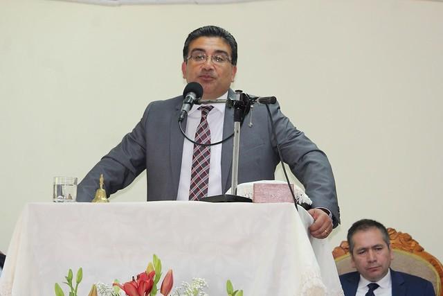 Pastores Sector 15 comparten Culto en IMPCH Guarilihue