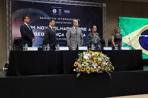 Abertura Seminário Internacional Um Novo Olhar Sobre a Segurança Pública