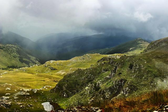 In the Carpathian mountains / A Kárpátokban