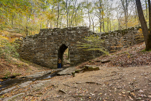 canon 6d 1740mml poinsettbridge greenvillesc upstate southcarolina bridge country roads rustic vanishing vintage classic southern scenic landscape america usa decay abandoned past aged rfd stone autumn fall foliage november