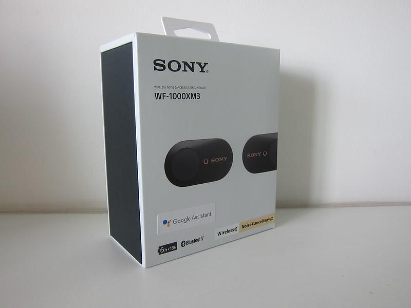 Sony WF-1000XM3 Earbuds - Box