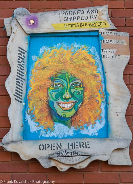 Street art in London's Brixton