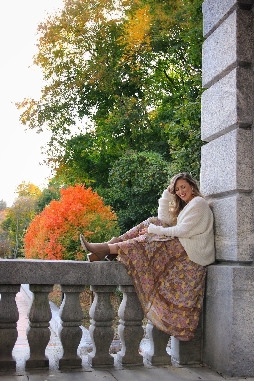 Kensico Dam Westchester Valhalla New York Fall Photo Shoot Inspiration