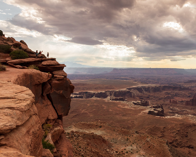 Canyonlands National Park   |   On the Edge at Grand View Point