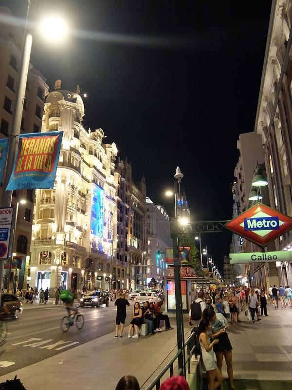 Мадрид - Улица Гран Виа