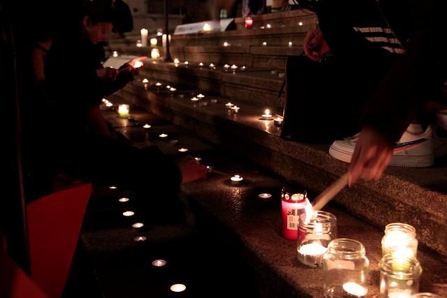Международный день борьбы с насилием в отношении женщин в Касселе 25.11.19