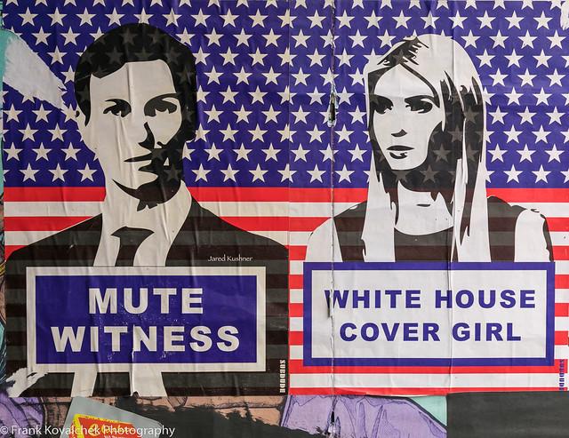 Street art in London's Brick Lane area
