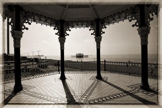 UK - Brighton - Bandstand view 01_vintage_DSC0307