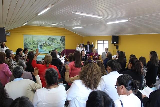 Dorcas de Lirquén visitan Anexo Vegas de Itata