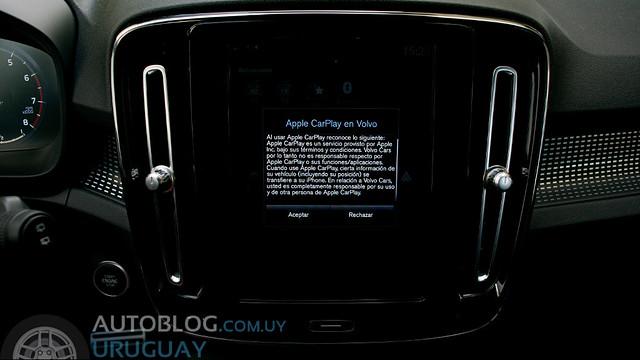 Prueba Volvo XC40 T4 FWD R-Design 2.0 T A/T