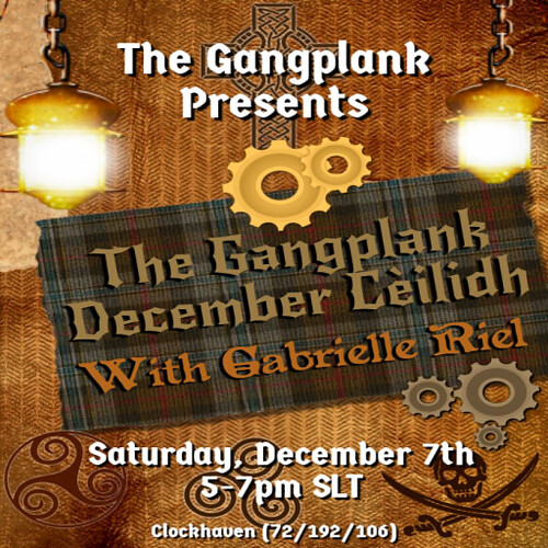 December Cèilidh at The Gangplank