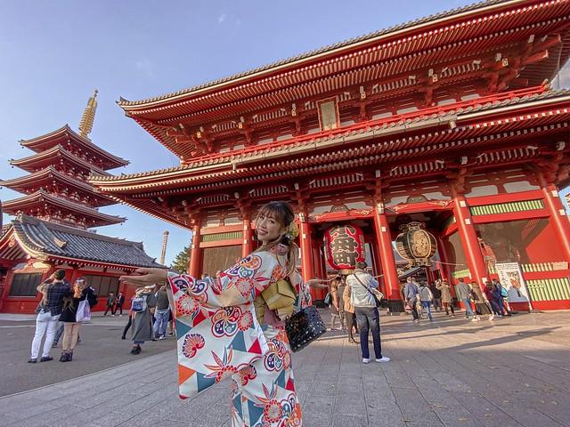 Tokyo Sightseeing Taxi - Cultural Edo in Kimono