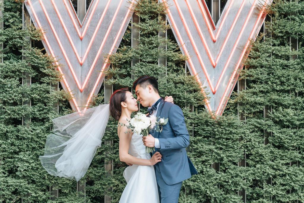 [ 婚攝 ] 鄧志斌Pan & 張露曰Denise 婚禮紀錄@ 台北W飯店hotel 婚禮攝影