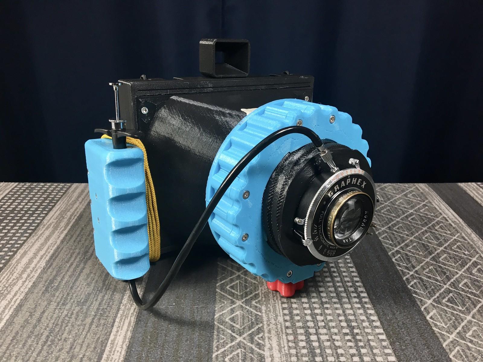 Cameradactyl OG with Kodak Ektar 127mm F/4.7 lens