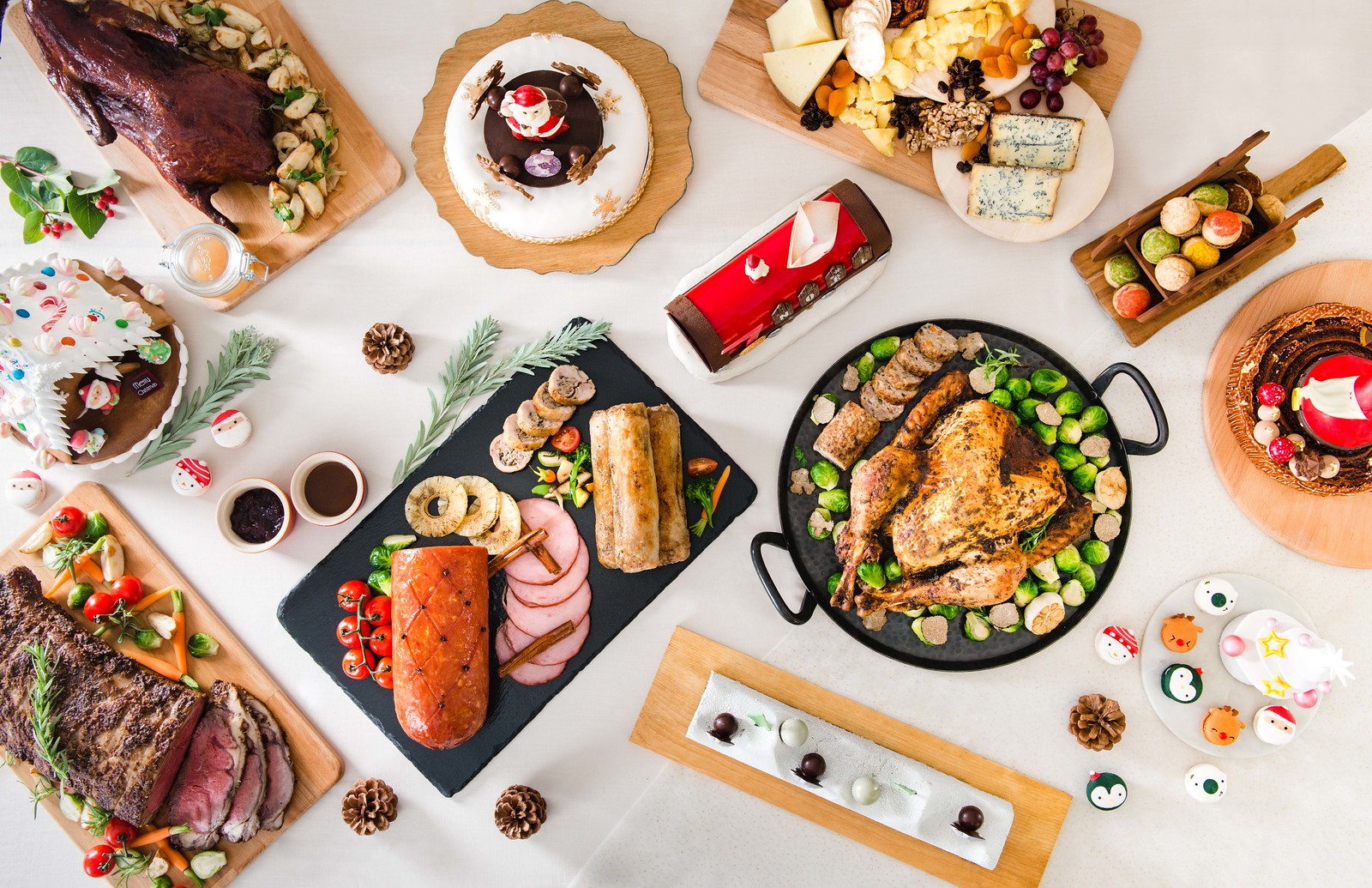 Intercontinental Christmas Feast