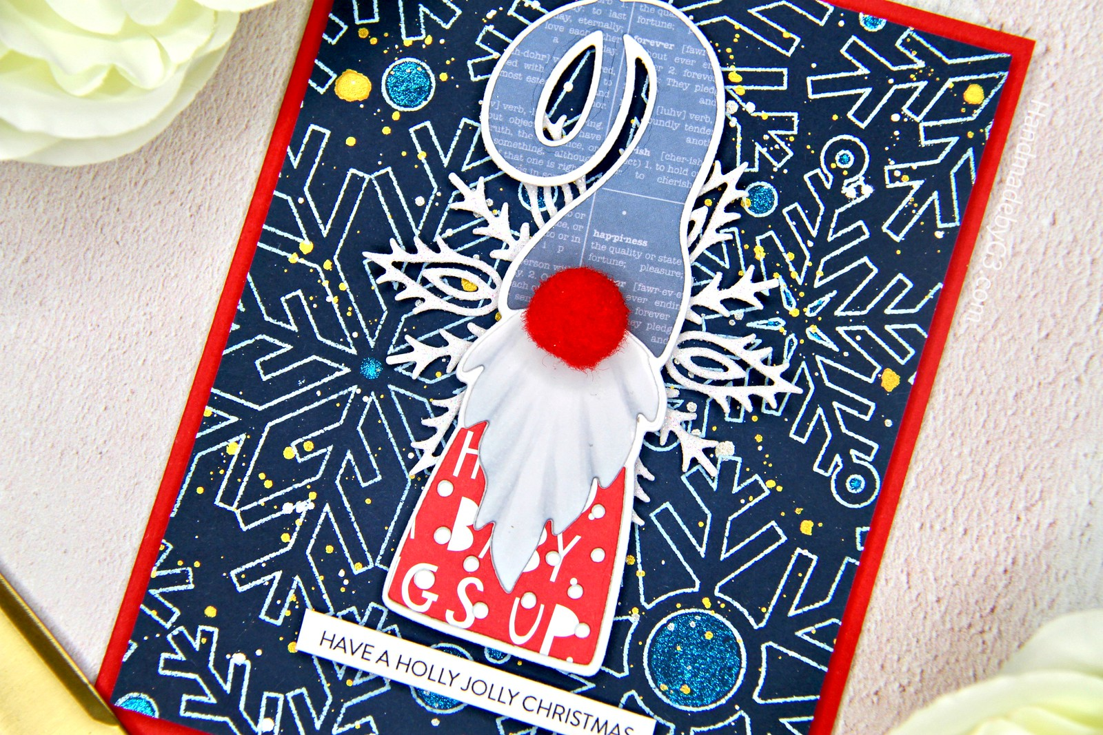 Gnome card #2 closeup1