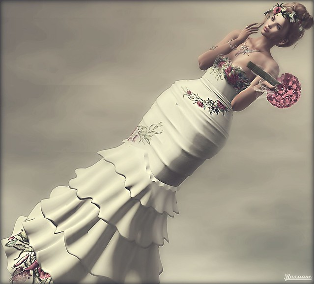 ► ﹌Rosa Gown by Fellini Couture.﹌◄