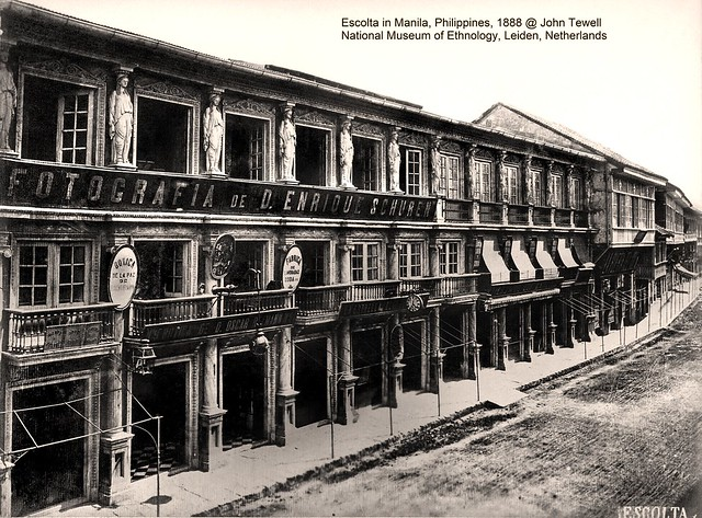 Escolta, Manila, Philippines, 1888