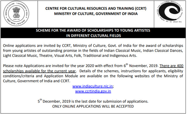 CCTS Scholarship Ad