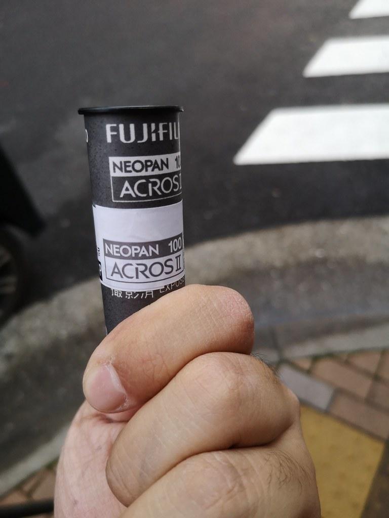 [写真] Neopan Acros II 試写