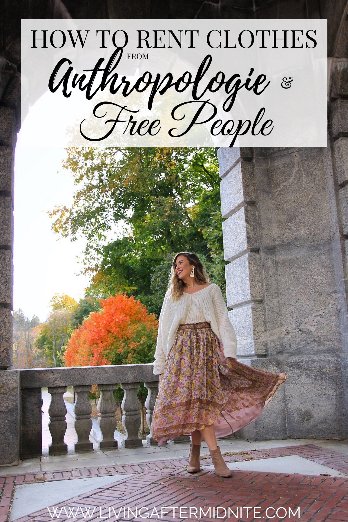How to rent clothes from Anthropologie and Free People - nuuly
