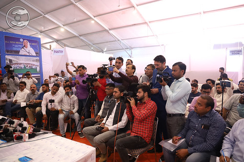 A view of Media in Press Conference