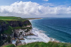 Acantilados y playa White Rocks - White Rocks beach and cliffs