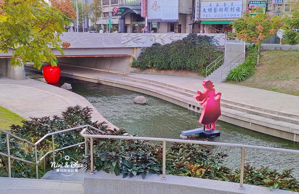 2019台中耶誕夢想世界.柳川水岸景觀步道04