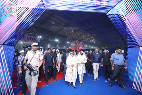 Her Holiness in the Nirankari Exhibition