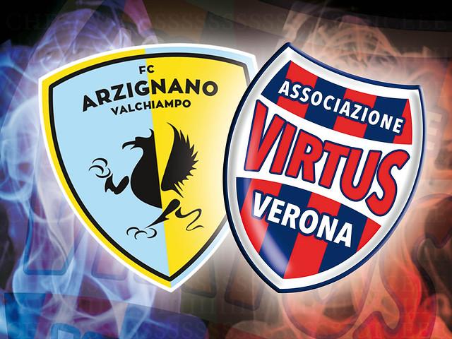 Arzignano - Virtus Verona 1-1 FINALE